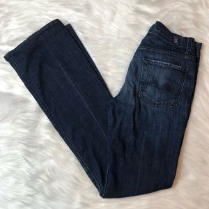 7 For All Mankind High Waist Bootcut Jeans Size 26
